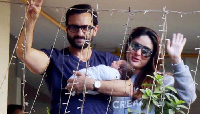 Saif Ali Khan, wifey Kareena Kapoor's son Taimur is epitome of cuteness - Here's proof