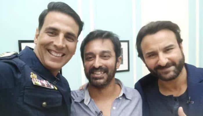 Akshay Kumar and Saif Ali Khan's latest selfie is giving us 'Main Khiladi Tu Anari' vibes!