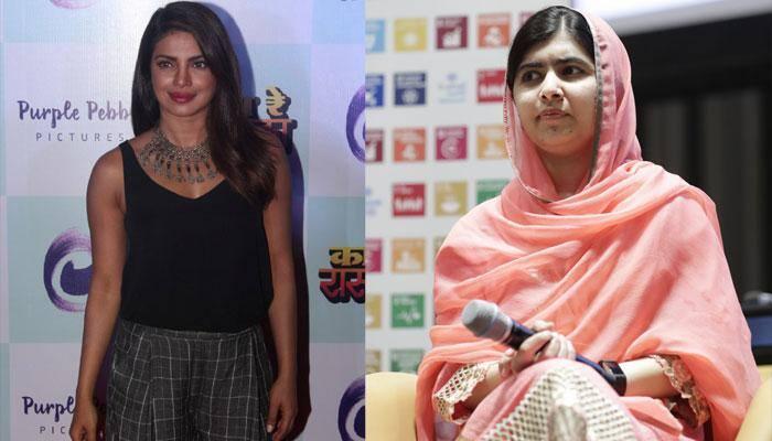 Malala 'can't believe' she met Priyanka Chopra