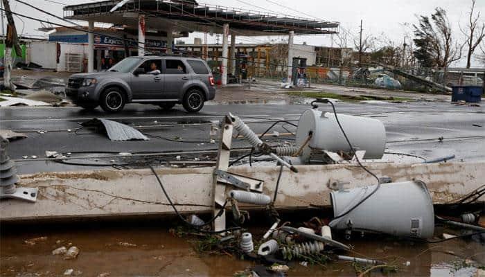 Hurricane Maria floods Dominican Republic, Puerto Rico