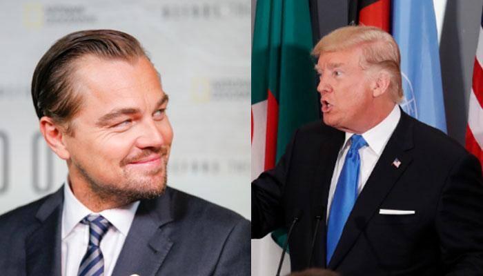 Leonardo DiCaprio slams Donald Trump for failing on climate change