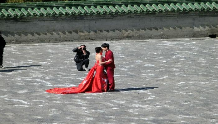 Chinese government encourages organised blind dates