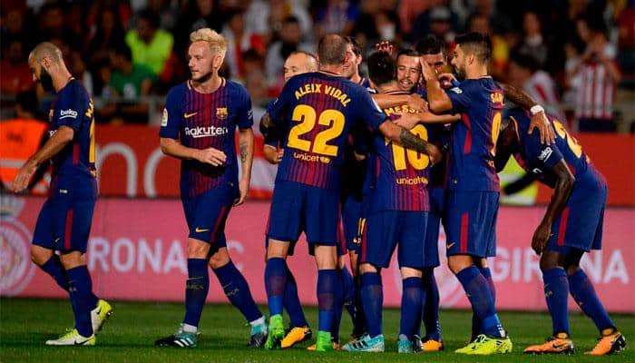 Barcelona remain perfect in Girona, Real Madrid bounce back