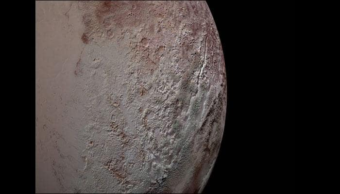 New Horizons: Origins of Pluto's giant blades of ice decoded