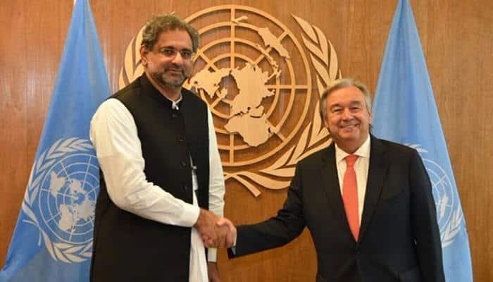 Pakistan hands over dossier on Kashmir to UN chief
