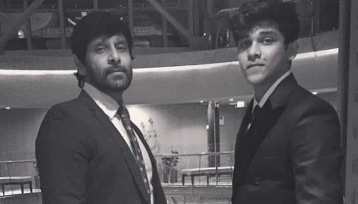 Vikram's son Dhruv in Arjun Reddy remake