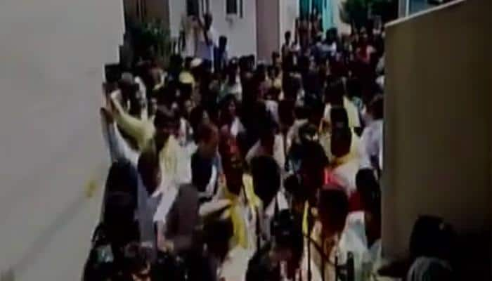 TDP MLA Balakrishna stokes controversy, slaps fan during election campaign