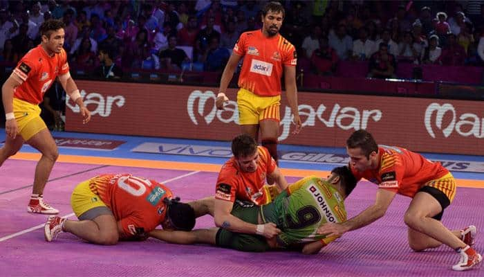 PKL 2017: Gujarat Fortunegiants beat Patna Pirates 33-29