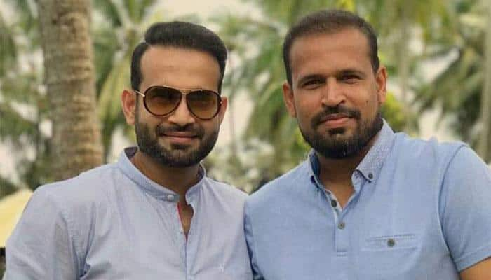 Watch: Irfan Pathan's sibling love after Yusuf reached century in Ranji Trophy
