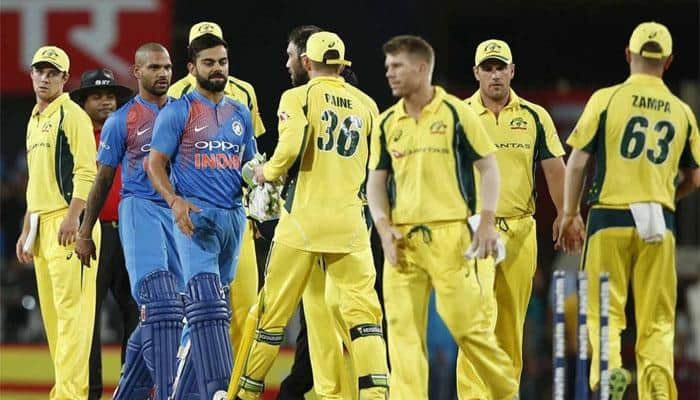 India vs Australia 2017: Rain threat looms over 3rd T20I