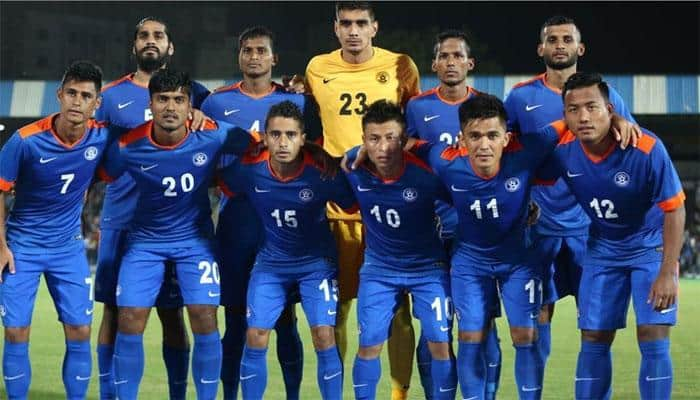Indian football team gains two places in FIFA rankings, 105th now