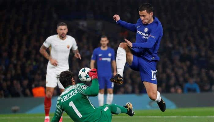 Eden Hazard rescues Chelsea in six-goal Roma thriller