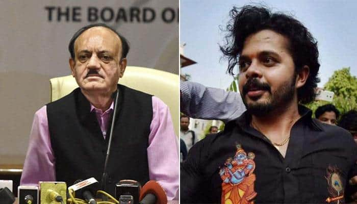 S Sreesanth cannot play for any other country: BCCI
