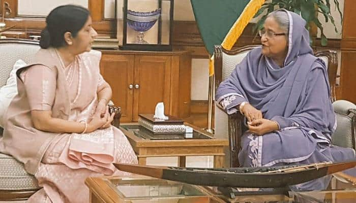 We're determined to fight violent extremism and terrorism together, says Sushma Swaraj in Bangladesh