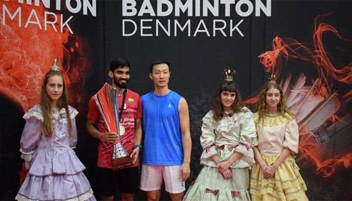 Kidambi Srikanth wins Denmark Open, his third Super Series title of 2017