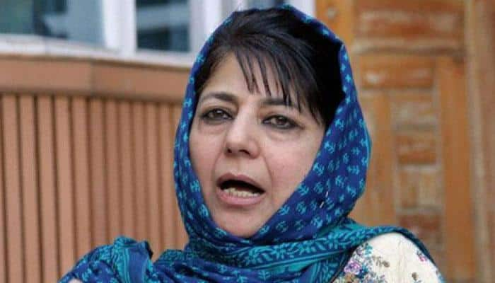 Mehbooba Mufti welcomes Centre's Kashmir initiative, says dialogue is the only way forward
