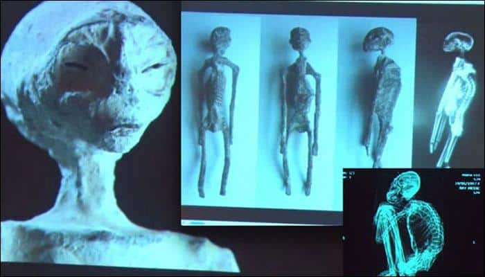 'Mummified aliens' found in Peru are real, claims scientist