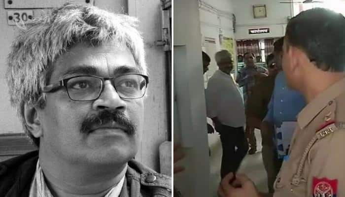 Journalist Vinod Verma arrested on allegations of extortion claims he is being framed
