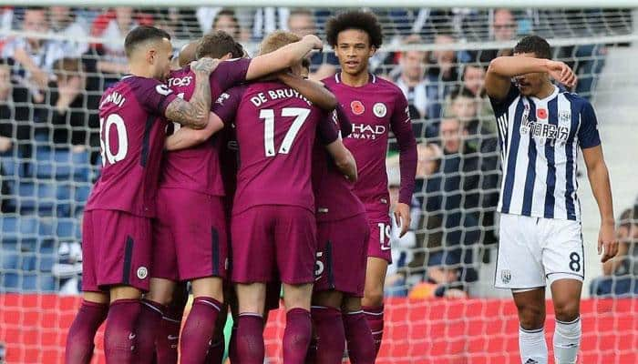 EPL Saturday Report: Manchester City maintain lead, Anthony Martial sinks Tottenham at Old Trafford