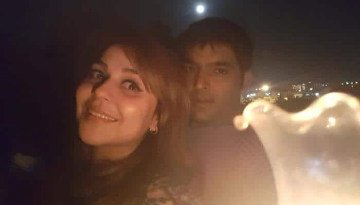 Kapil Sharma, girlfriend Ginni Chatrath visit Shirdi Sai Baba, Shani Shingnapur ahead of Firangi release—Viral pics