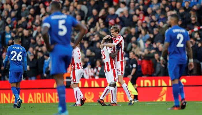 Stoke City's Peter Crouch earns share of spoils against Leicester