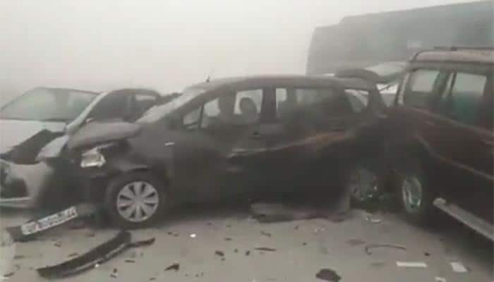 Horrific video of car collision on Yamuna Expressway goes viral