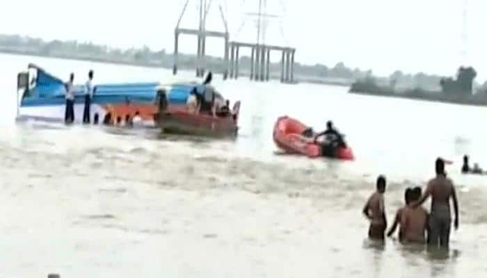 16 tourists drown in Andhra as boat capsizes in Krishna river