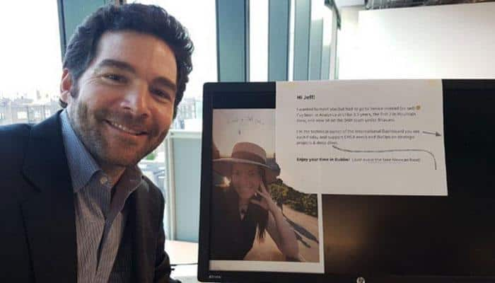 LinkedIn CEO's selfie with employee on leave goes viral. Here's why