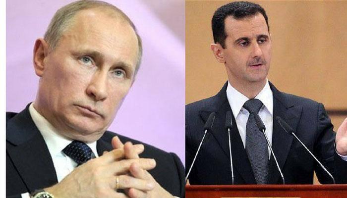 Russia's Vladimir Putin hosts Syria's Bashar al-Assad Assad for talks: Kremlin