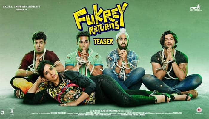 Fukrey Returns new poster is wacky and fun! See inside