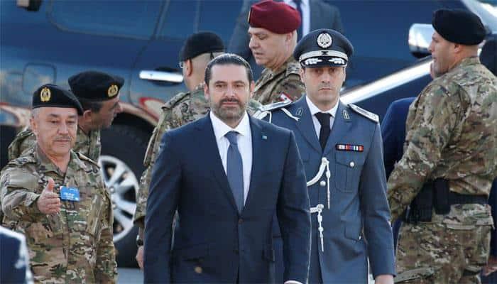 Lebanon`s PM Hariri says resignation on hold pending talks