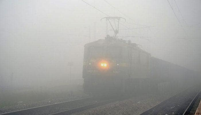 Fog effect: 17 Delhi-bound trains late, 6 rescheduled, 1 cancelled