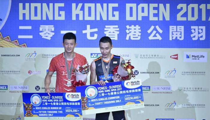 Lee Chong Wei wins Hong Kong Open