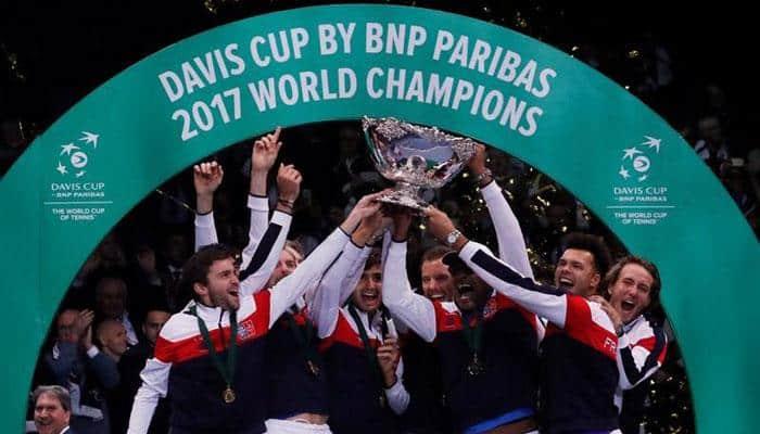 Lucas Pouille powers France to 10th Davis Cup title