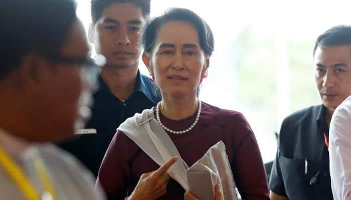 Myanmar's Aung San Suu Kyi to visit China as criticism over Rohingya crisis escalates