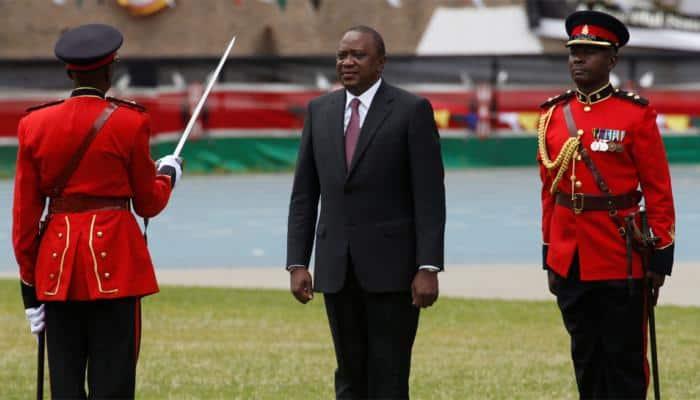 Kenya president Uhuru Kenyatta sworn in, rival Raila Odinga promises own inauguration