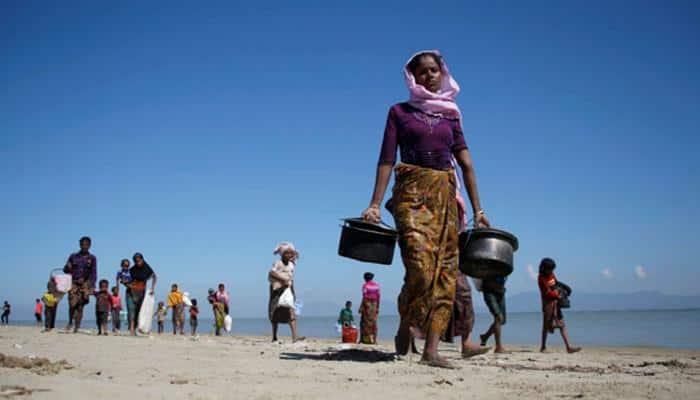 Eight Rohingyas held in Tripura