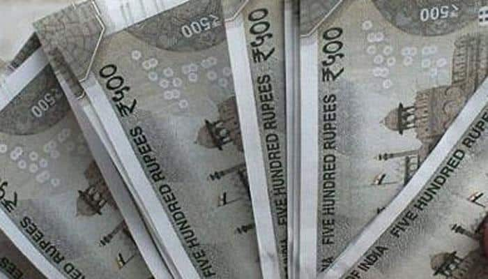 Rupee drops 24 paise to 64.55 Vs dollar
