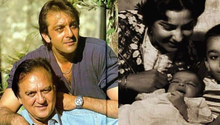 Sanjay Dutt shares adorable throwback pic with mom-dad and the caption will melt your heart!