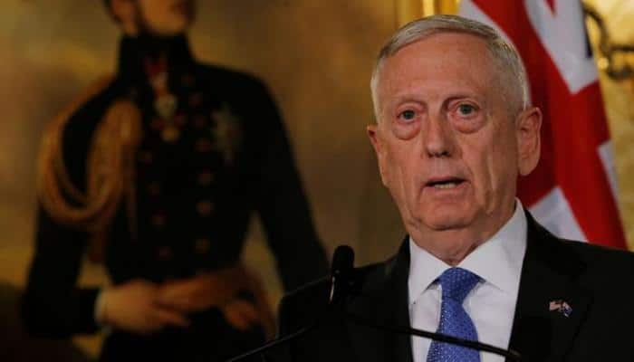Mattis begins his trip to Pakistan, Middle East, West Africa