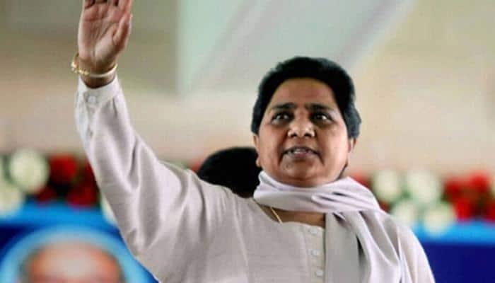 Mayawati pays tribute to Ambedkar's Buddhist guru