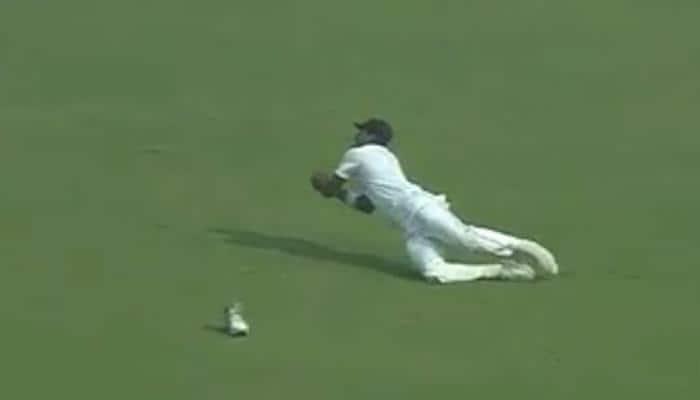 WATCH: Suranga Lakmal's 'one shoe catch' to dismiss Shikhar Dhawan leaves players in splits