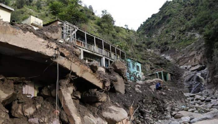 One dead, another missing after landslide in JK's Ramban