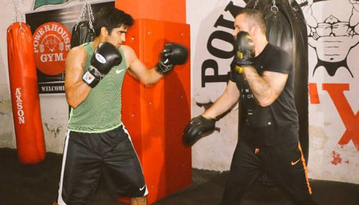 Undefeated Vijender Singh to defend title against African champion Ernest Amuzu