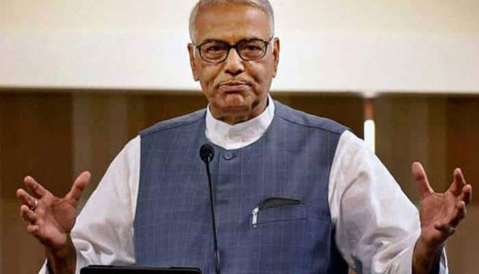 BJP leader Yashwant Sinha detained during protest march, later released