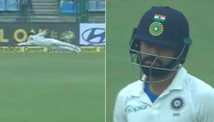 India vs Sri Lanka, 3rd Test: Flying Sadeera Samarawickrama impresses Virat Kohli, Delhi crowd – Watch