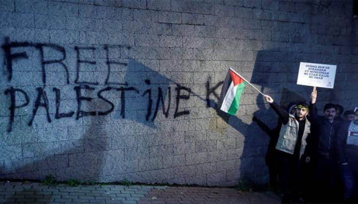 Second Palestinian killed in anti-Trump clashes in Gaza
