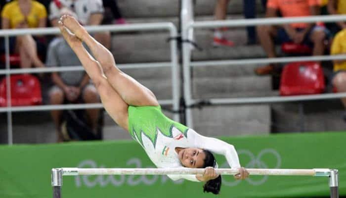 Gymnast Dipa Karmakar fit but coach Bishweshwar Nandi will take CWG call in March