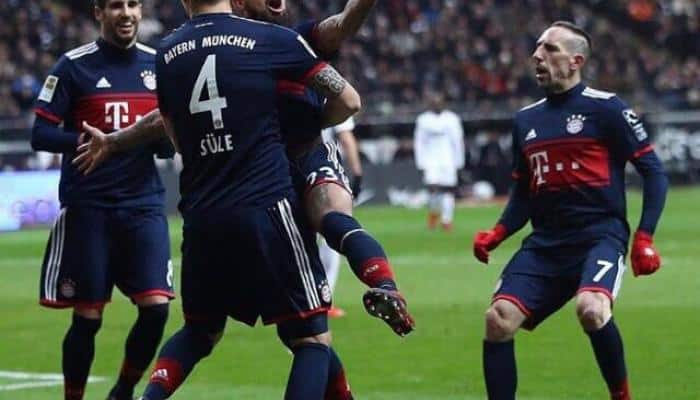 Bundesliga: Lacklustre Bayern Munich beat Eintracht Frankfurt to stretch lead
