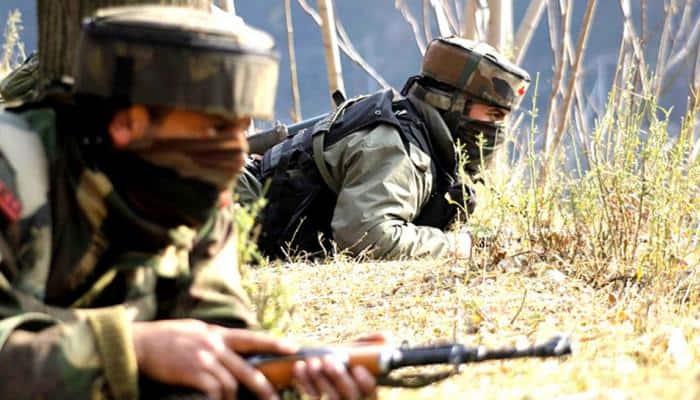 J&K: Security forces cordon off Handwara's Hajin town, launch search operation